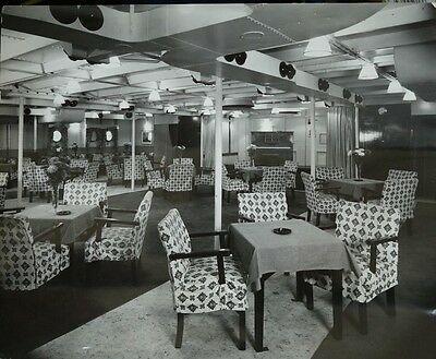 Georgic (White Star Line) Photograph Of The Concert Room
