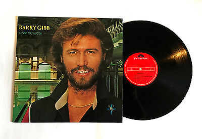 BARRY GIBB Now Voyager JAPAN VINYL LP RECORD 1984 25MM-0385 Bee Gees