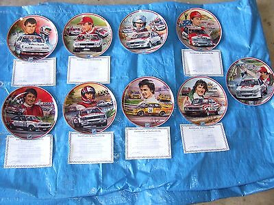 Peter Brock Limited Edition Plate Set