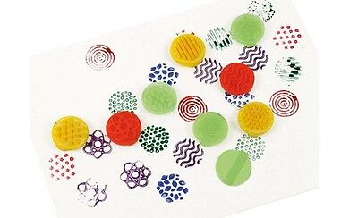 Texture Finger Printers Pack Of 8 As pictured