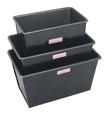 1LB, 2LB & 3LB Traditional Loaf Tins, Box Style, Hand Made, British Made Glidex
