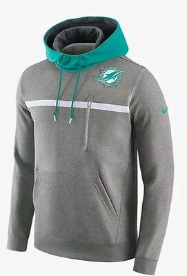 Miami Dolphins NFL Nike Pullover Hoodie, Men's L, BNWT