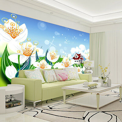 3D Stamens House Wall Paper Murals Wall Print Decal Wall Deco AJ WALLPAPER