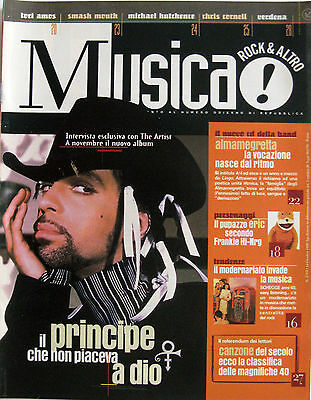 MUSICA 210 1999 Prince Tori Amos Almamegretta Badly Drawn Boy Verdena Cornell