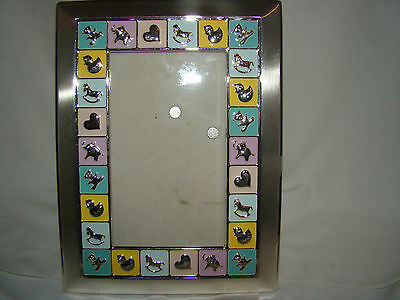 """Baby Picture Frame - Used - Frame Size 7 1/2"""" x 5 1/2"""" - Photo Size 6"""" x 4"""""""