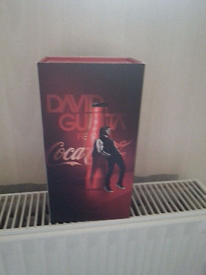 Coca Cola  Botle France .limeted edidion box david Guetta