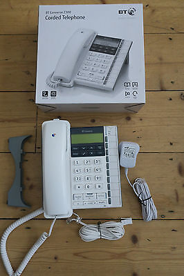 BT Converse 2300 Corded Phone - White - Boxed - Excellent condition