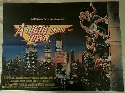 A Night On The Town aka Adventures In Babysitting 1988 Original Quad Film Poster
