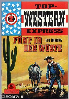 TOP WESTERN EXPRESS 457 / Geo Barring/ (1962-1975 Indra-Verlag)