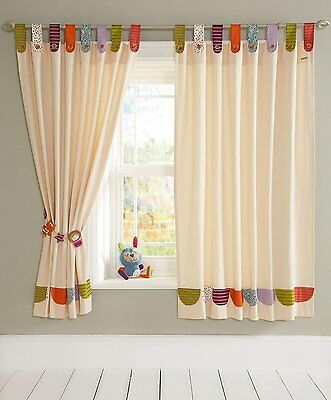 Mamas and Papas Timbuktales Tab Top Curtains (132 x 160 cm)