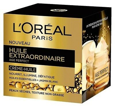 Creme Huile Extraordinaire Age Perfect L'oreal Neuf 50Ml .