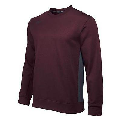Nike Team KO Men's Long Sleeve Crew New With Tags Color: Dark Maroon