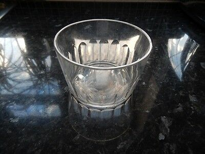 Antique Cut Glass Mixing Bowl For Tea Caddy, C.1820