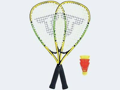 MTS Speed Badmintonset Junior 2 Schläger 3 Bälle Zubeh 490104