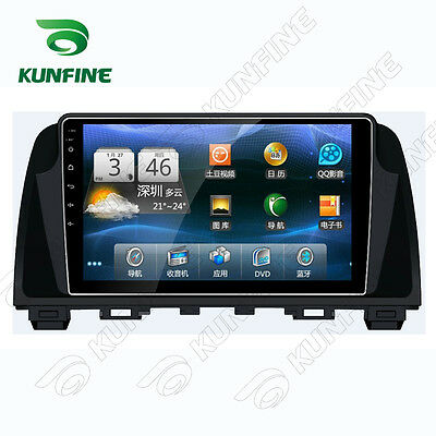 Android 5.1 Quad Core Car DVD Stereo Player GPS Navigation For Mazda 6 ATENZA 14