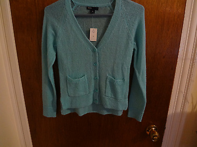 NWT Gap Kids Light Blue Button Sweater Size 10 Think Spring !