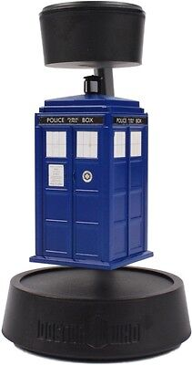 Doctor Who Tardis Floating Spinning Hovering Flying Hovering Magic Desk Toy