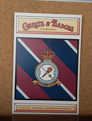Royal Air force 229 Operational Conv unt  Crests & Badges of the Armed services