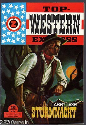 TOP WESTERN EXPRESS 458 / Larry Lash (1962-1975 Indra-Verlag)