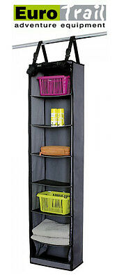 EUROTRAIL Hanging Storage Cupboard Unit 7 Storage Compartments Camper/Tent