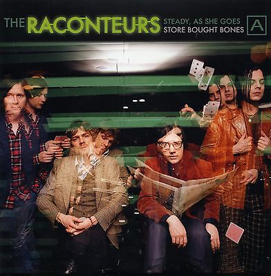 """RACONTEURS Steady/Store 1st Issue 1000 copies 7"""" NEW JACK WHITE"""