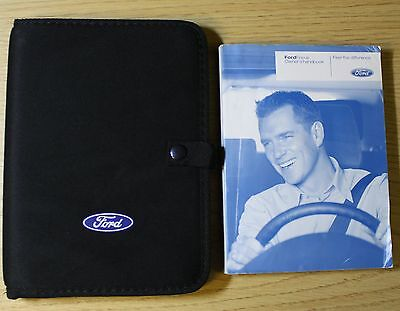 Ford Focus Saloon  & Convertible Handbook Owners Manual Wallet 2008-2011 Pack
