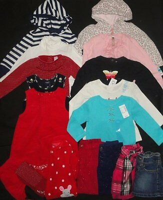 GIRLS 18-24 24 months Toddler Clothes Lot EASTER Outfit Sets Dress NEW EUC