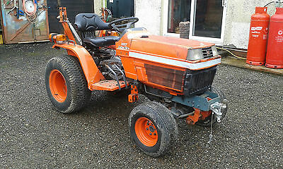 Kubota B1550 Tractor 1400 Hours No VAT Unfinished project