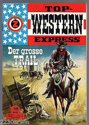 TOP WESTERN EXPRESS 348 / Geo Barring (1962-1975 Indra-Verlag)