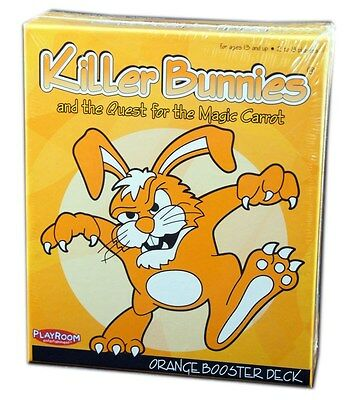 Playroom Entertainment, Killer Bunnies, Orange Booster Deck, New And Sealed