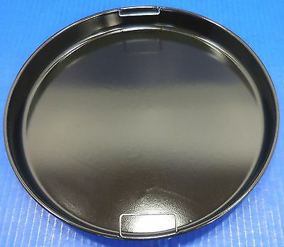 "Nuwave Pro Infrared Oven Replacement Black Metal Base Drip Tray Pan 13"" 3725"