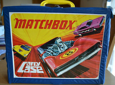 Matchbox Lesney Superfast 48 Diecast Model Car Collectors Case with 4 trays