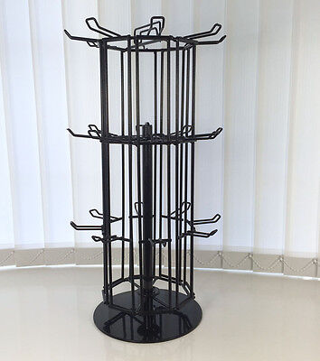 Rotating Retail Shop Market Counter Top Jewellery Accessories Display Tower Unit