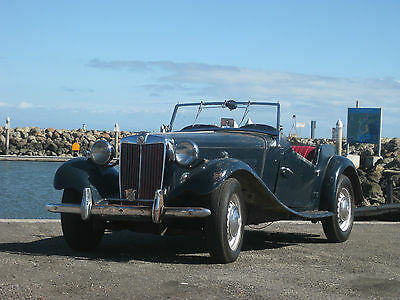 1954 MG TD Excellent Candidate for Restoration  1954 MG TD ***Very Original and Complete*** Right Hand Drive***