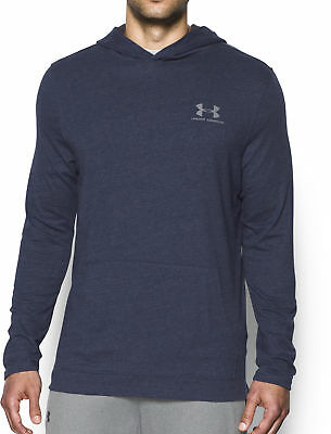 Under Armour Heatgear Tri Blend Mens Running Hoody - Blue