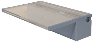 ProEco Acrylic Weirs - Waterfall Spillway with LED Light Strips Available