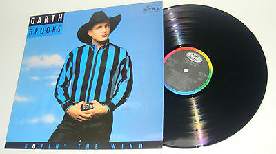 Vinilo LP - GARTH BROOKS - ROPIN' THE WIND - Made in Spain 1992 - GARTH BROOKS