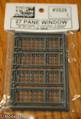 Tichy Train Group #3529 (S Scale) 27 Pane Windows (Roundhouse/Industrial) 8