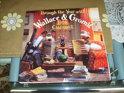 Through the Year with Wallace & Gromit 1998 Calendar from The Character Card Co.