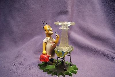 """The Simpsons - At Home with Homer """"Kiss the Chef"""" Hamilton Collection"""