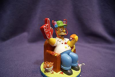 """The Simpsons - At Home with Homer """"Game Day"""" Hamilton Collection"""