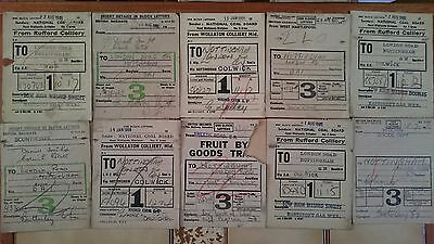 Br Btc Tre And Ncb Wagon Labels X 100 - Various (See Photos) - Set 3