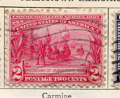 United States 1907 Early Issue Fine Used 2c. 134221