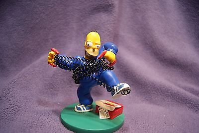 """The Simpsons - At Home with Homer """"Born to be buff"""" Hamilton Collection"""