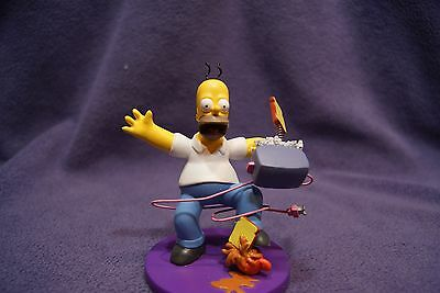 """The Simpsons - Misadventures of Homer """"Morning Jolt"""" Hamilton Collection"""