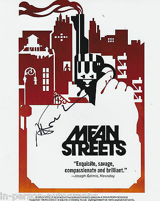 Martin Scorsese Signed Mean Streets 10x8 Photo AFTAL OnlineCOA