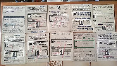 Br Btc Tre And Ncb Wagon Labels X 100 - Various (See Photos) - Set 6
