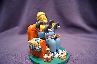 """The Simpsons - Misadventures of Homer """"Mr. Fitness"""" Hamilton Collection"""