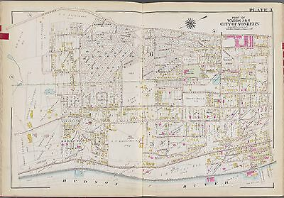 1911 Westchester Yonkers Ny High St - Ewis St Ps 9 Irving Park Bromley Atlas Map