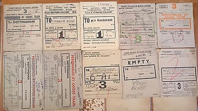 Br Btc Tre And Ncb Wagon Labels X 100 - Various (See Photos) - Set 10
